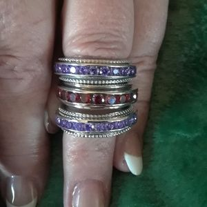 🤶 Mrs. Claus Choice 🤶🏻 Set of 3 eternity Bands